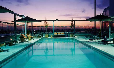 gansevoort hotel group luxury hotels  manhattan