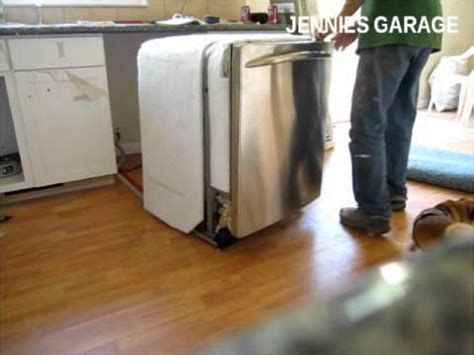 install  dishwasher   youre   plumbing genius youtube