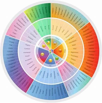 Emotion Wheel Why Tracking Step Emotional Happy