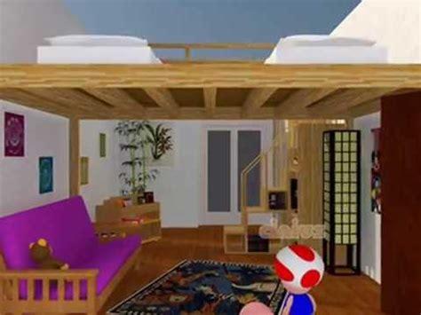 lit escamotable 2 places lit mezzanine lit escamotable