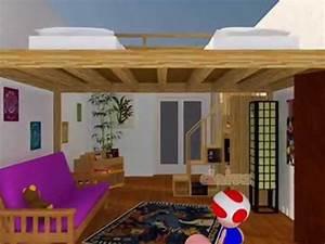 Lit Escamotable 2 Places : lit mezzanine lit escamotable youtube ~ Melissatoandfro.com Idées de Décoration