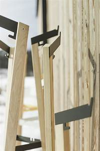 porte manteau pour exterieur terrasse salto en metal acier With porte en bois massif exterieur