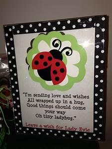 Free 1st Birthday Invitation Ladybug Wish Tree Poem Evie 39 S Ladybug 1st Birthday