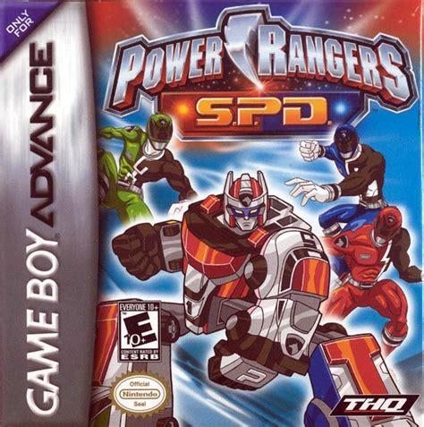 power rangers spd usa rom gt gameboy advance gba