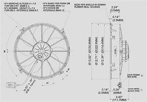 Spal Fan Wiring Diagram Single