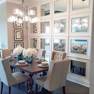 34, popular, mirror, wall, decor, ideas, best, for, living, room