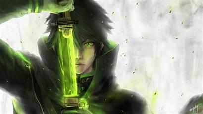 Anime Sword Wallpapers Owari Character Eyes Seraph