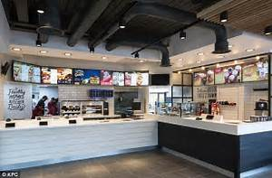 KFC unveils new store designs featuring brick walls