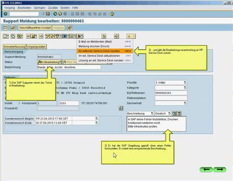 solution manager service desk itc salut kopplung sap solution manager mit zentralem