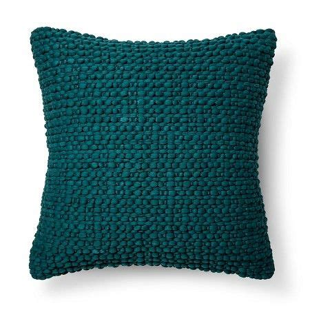 Target Bedroom Throw Pillows by Throw Pillow Teal Textured Blue Threshold Target For
