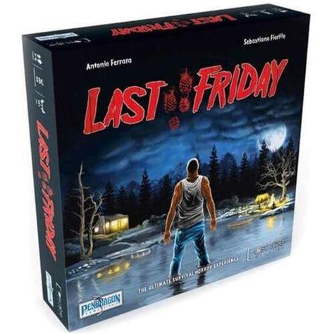 Kadabra galda spēle Last Friday 13+ 0466   Galda spēles ...
