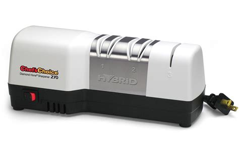 Chef S Choice Knife Sharpener How To Use by Chef S Choice Model 270 Hybrid Knife Sharpener
