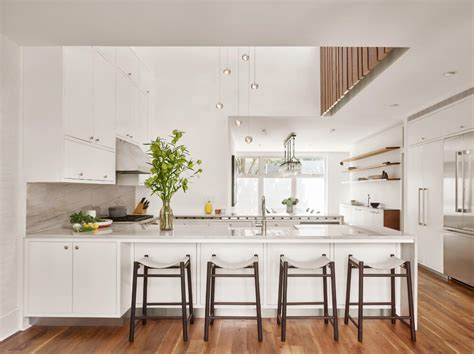 row house kitchen design greenpoint row house features two story kitchen and bone 4908