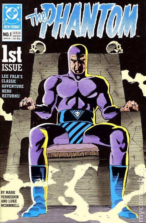 phantom  dc  series comic books