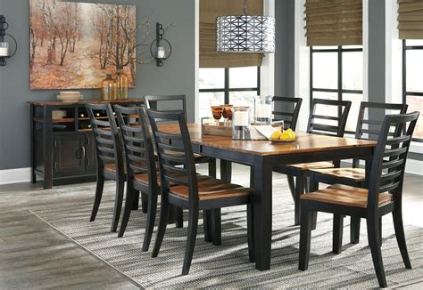 quinley  tone butterfly extendable rectangular dining