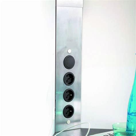 multiprise d angle cuisine multiprise cuisine bloc 3 prises d 39 angle avec interrupteur