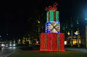 University Town Center lights up for holidays   East