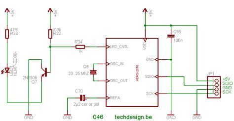 Wiring Diagram For Computer Mouse by 046 Td Usb 01 Adns 2620 Mouse Interface