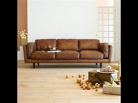 canapé cuire convertible choisir un canapé cuir design pour le salon