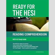 Hesi A2 Reading Comprehension Estudy Guide Download And Study Right  Ready For The Hesi