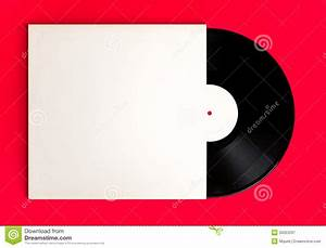 Blank Record Album And Cover Royalty Free Stock ...