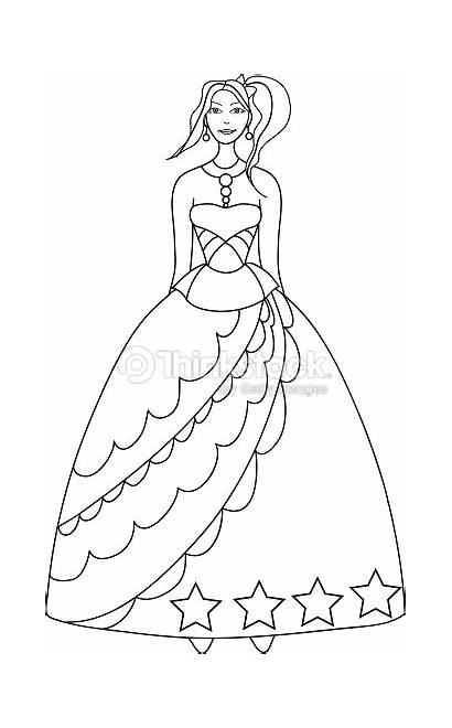 Princess Coloring Princesse Coloriage Enfants Colorare Droits