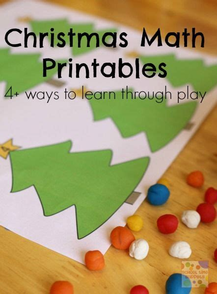 christmas tree math so many ways to learn with this tree math pack