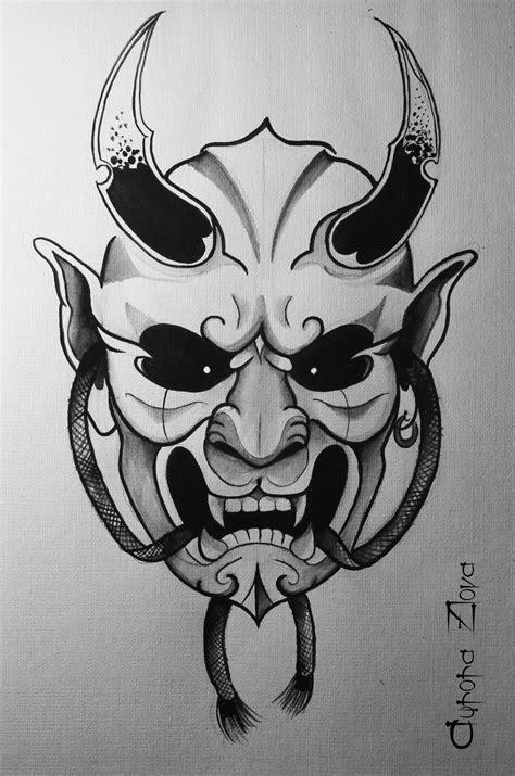 aurora zlova oni mask japanesse daemon jap trad