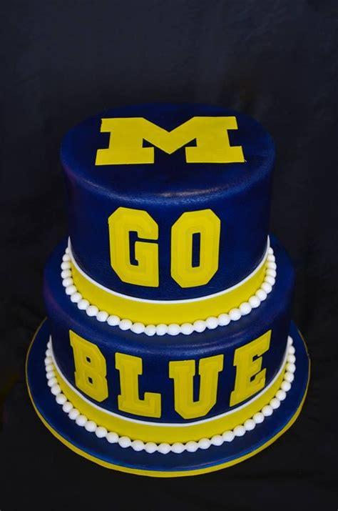 michigan wolverines football cake ideas  designs