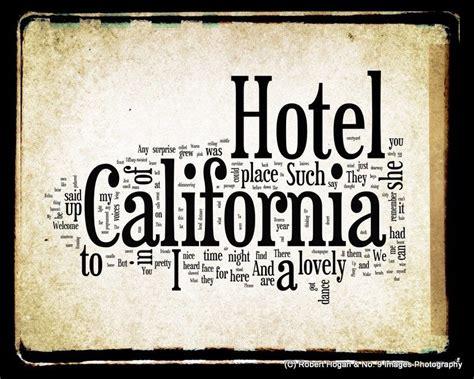 hotel california  eagles legendary lyrics