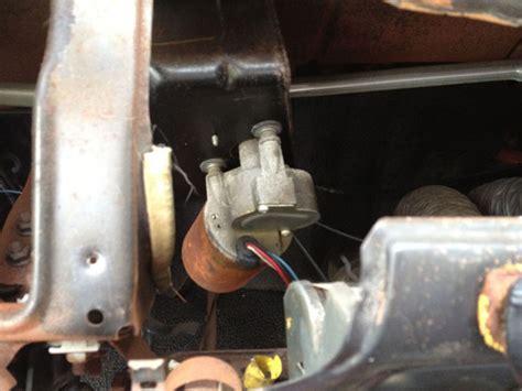 mustang  speed windshield wiper motor