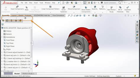 Solidworks 2016 Split Featuremanager With Ease