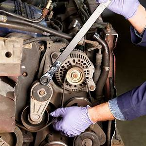 Changing A Car Serpentine Belt  Diy Car Serpentine Belt
