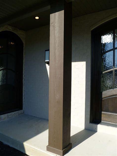columns exterior custom homes  tompkins construction