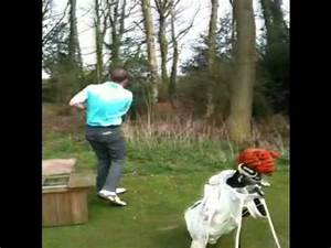 Squirrel gets hit by golf ball UNBELIEVABLE! - YouTube