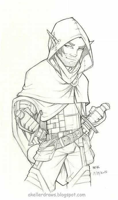 Rogue Vax Drawing Ildan Character Dragons Pages