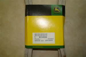 deere m154958 secondary deck drive belt for 48c deck ebay