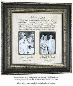 personalized frame parents of the bride from With unique wedding gifts for parents
