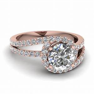 swirl loop ring fascinating diamonds With white gold and rose gold wedding rings