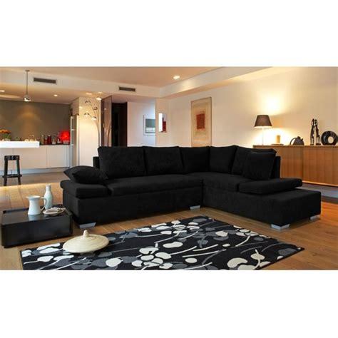 salon canape noir décoration salon avec canape noir