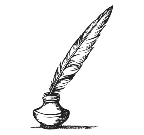 feather clipart   ink feather   ink