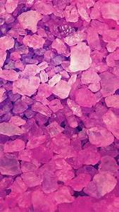 Pink Crystals Wallpaper