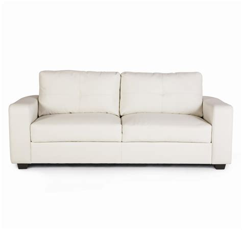 white fabric sectional white fabric sofa with two seat plus black wooden legs on