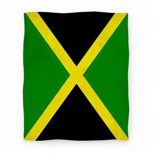 Flag of Jamaica - Blanket - HUMAN