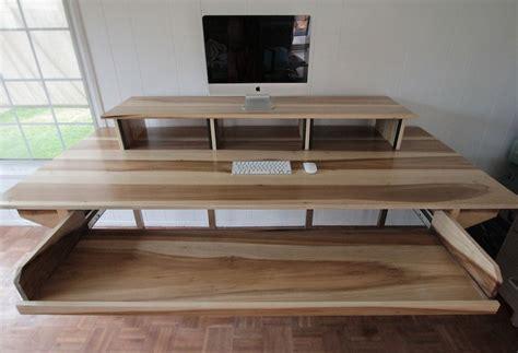 Custom Audio Minimalis custom minimalist industrial desk or recording bureau