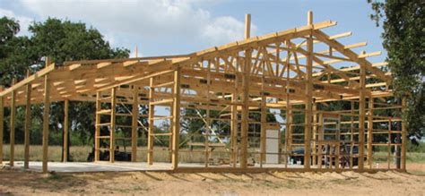 pole barn installation pole barn construction and building your own home