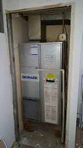 Skymark Package Unit In Closet Prior To Removal For A
