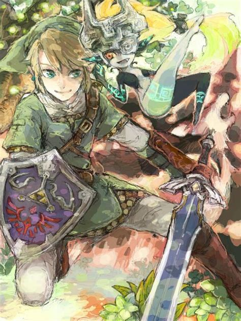 Legend Of Zelda Twilight Princess Fan Art Legend Of