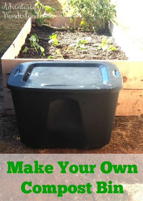 how to make your own compost diy compost bin