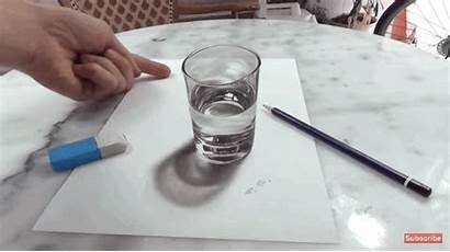 Realistic Drawings Pabst Stefan Glass Illusion Objects